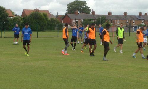 Pre-Season Training Going Well