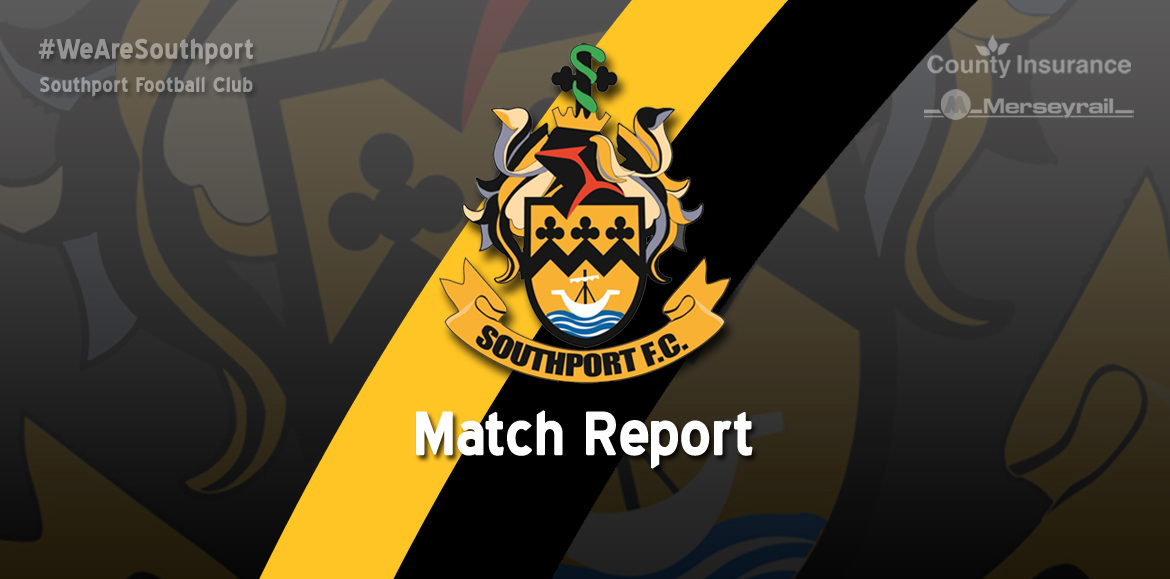 MATCH REPORT | Southport 1 – 1 Sutton United