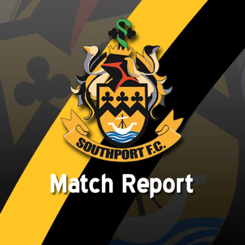 MATCH REPORT | Southport 1 – 1 Lincoln City