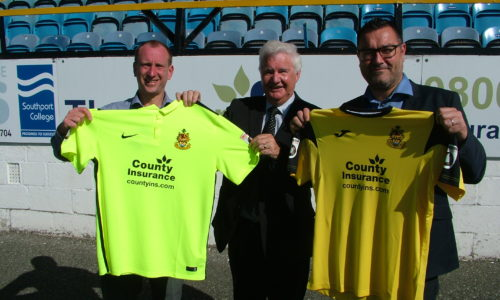 County Insurance New Shirt Sponsor