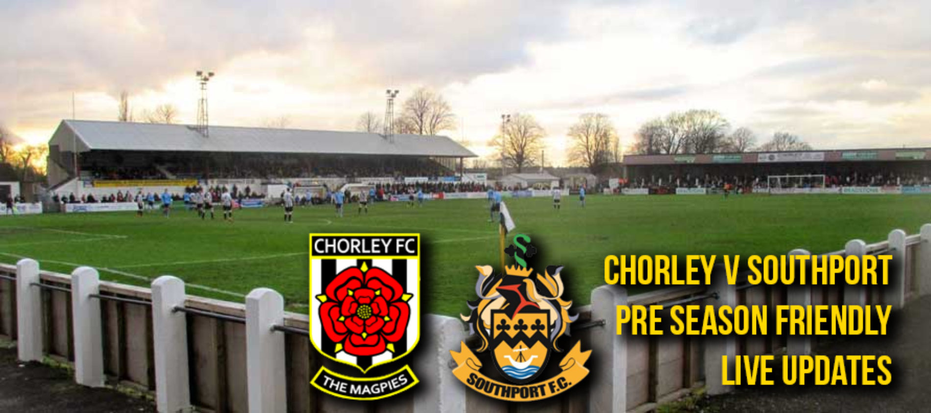 LIVE COVERAGE: Chorley v Southport