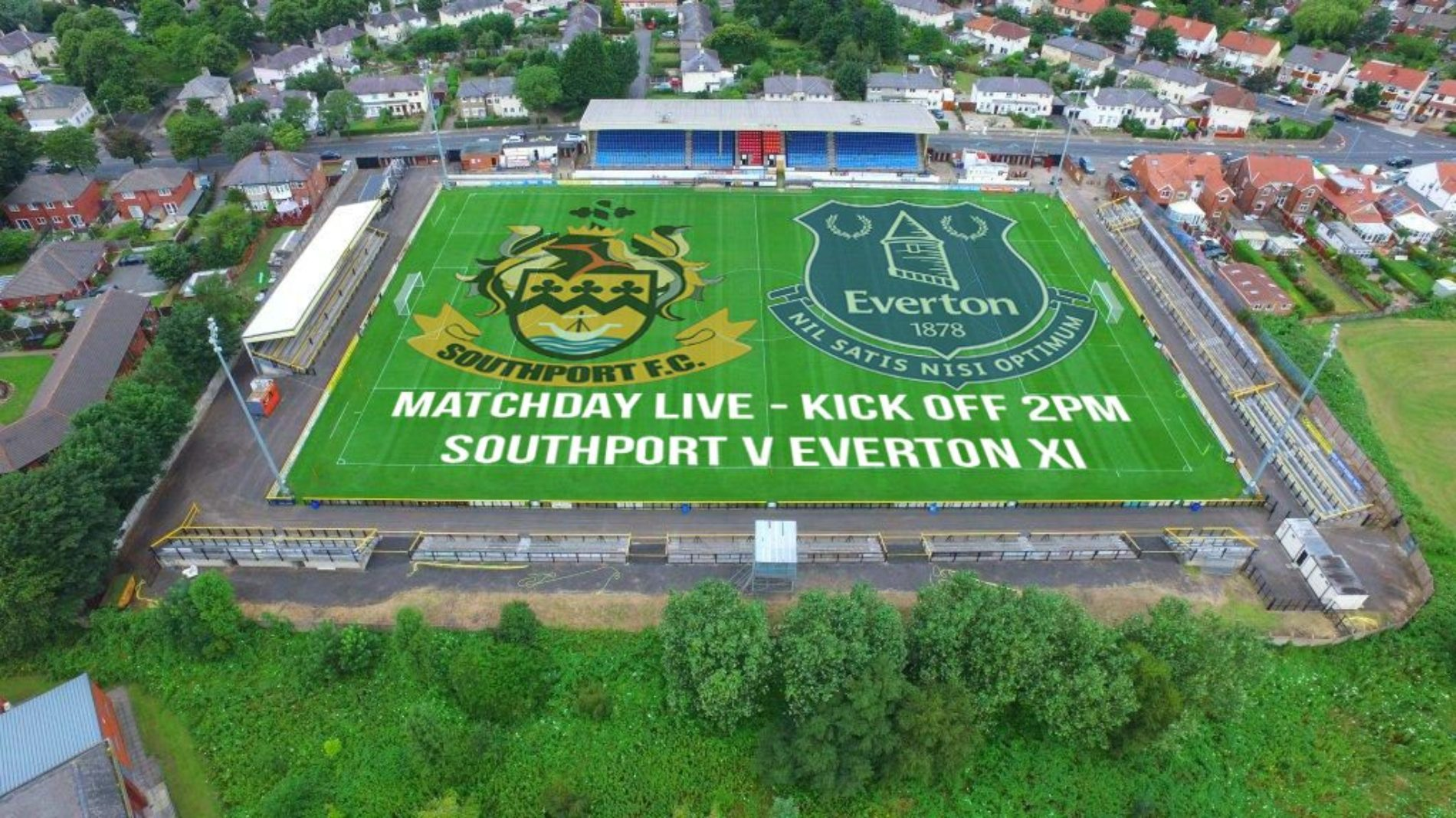 MATCHDAY LIVE | Southport V Everton