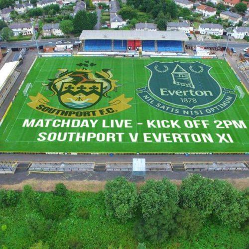 MATCHDAY LIVE   Southport V Everton