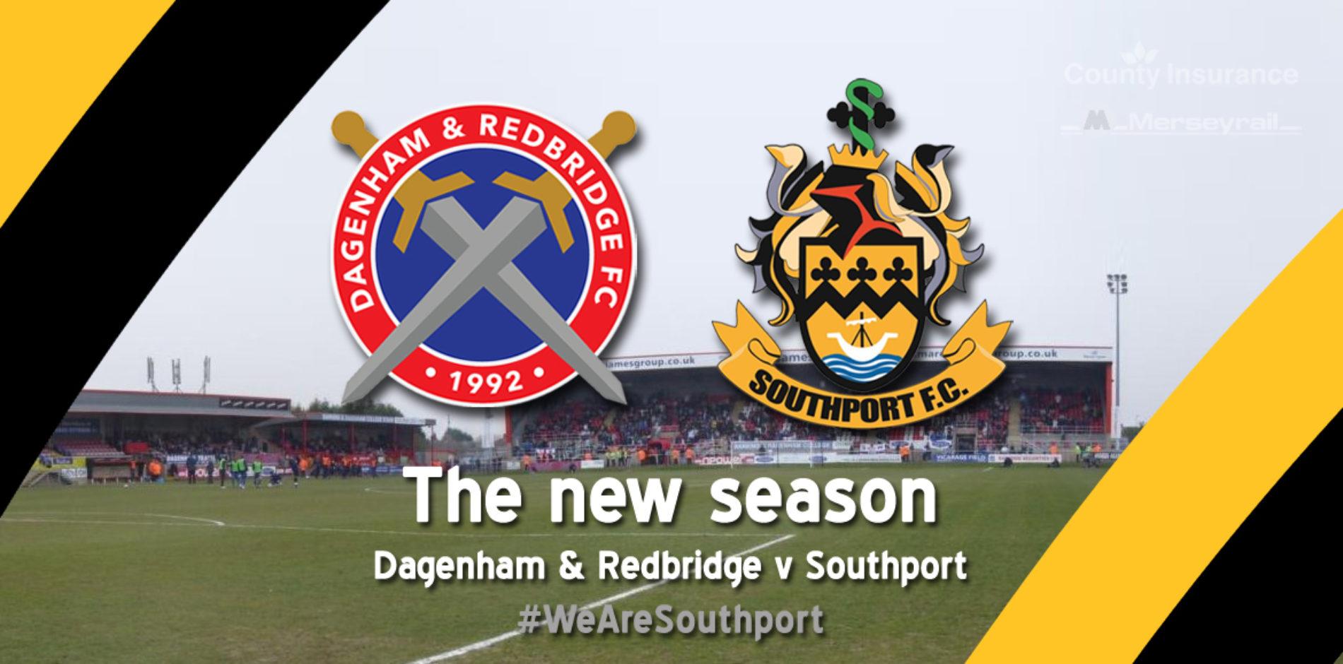 MATCH REPORT | Dagenham & Redbridge 3 – 0 Southport