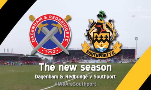 MATCH REPORT | Dagenham & Redbridge 3 – 0 Southport