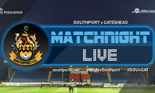 MATCHDAY LIVE | Southport 0 – 3 Gateshead