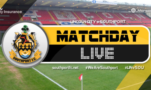 MATCHDAY LIVE | Lincoln City 4 – 0 Southport