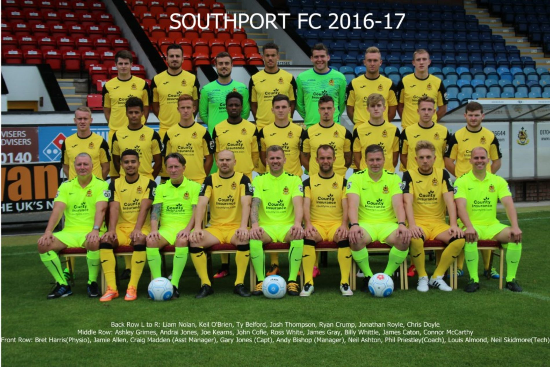 Squad Photo Revealed for 2016/17 Season