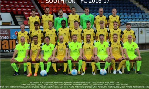 Squad Photo Revealed for 2016/17 Season