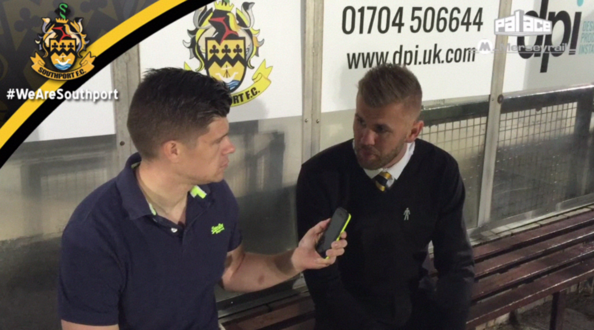 VIDEO | Andy Bishop Interview After Gateshead