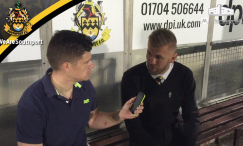 AUDIO | Andy Bishop Interview After Gateshead