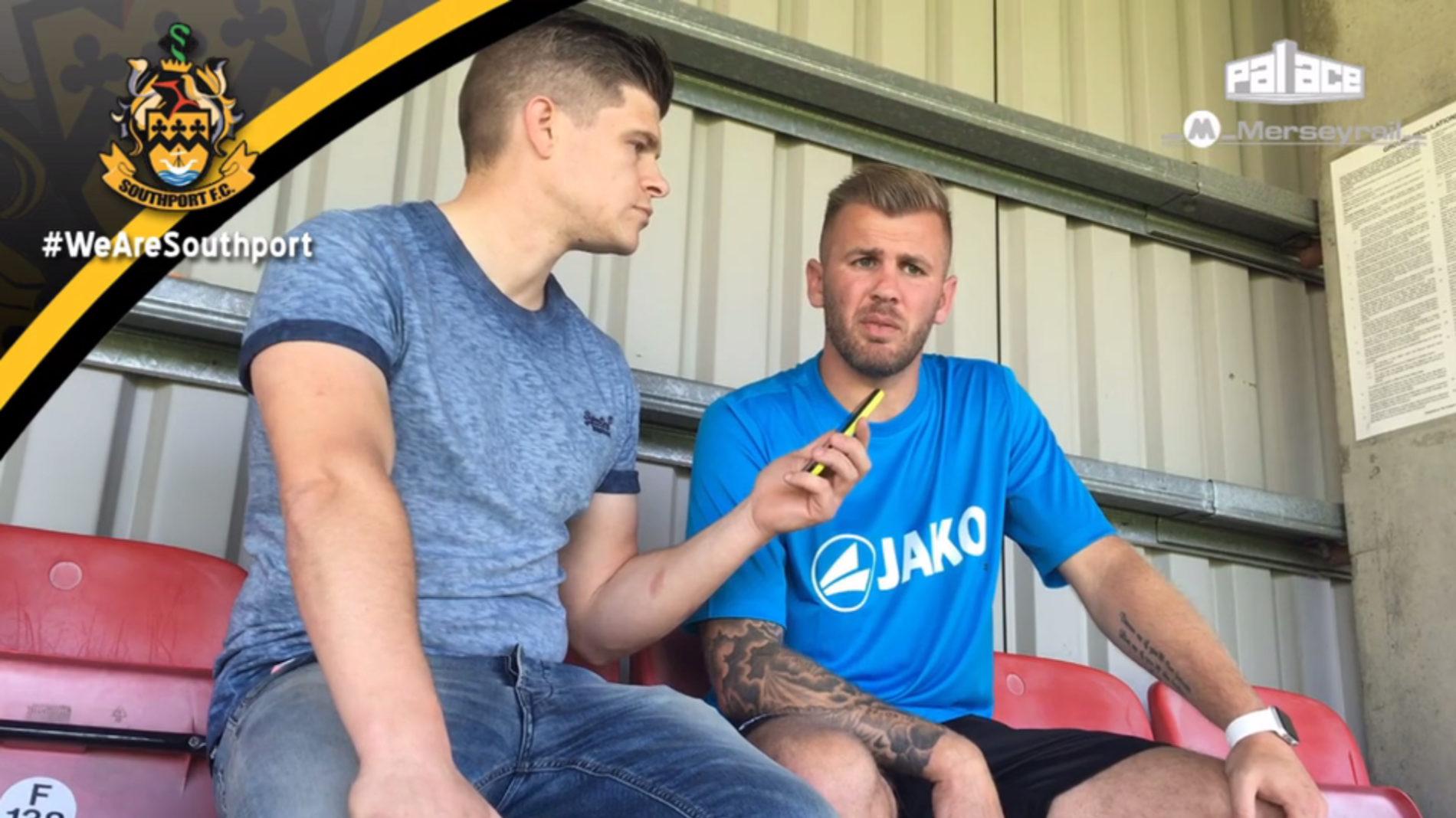 VIDEO | Bishop Post Match Dagenham Interview
