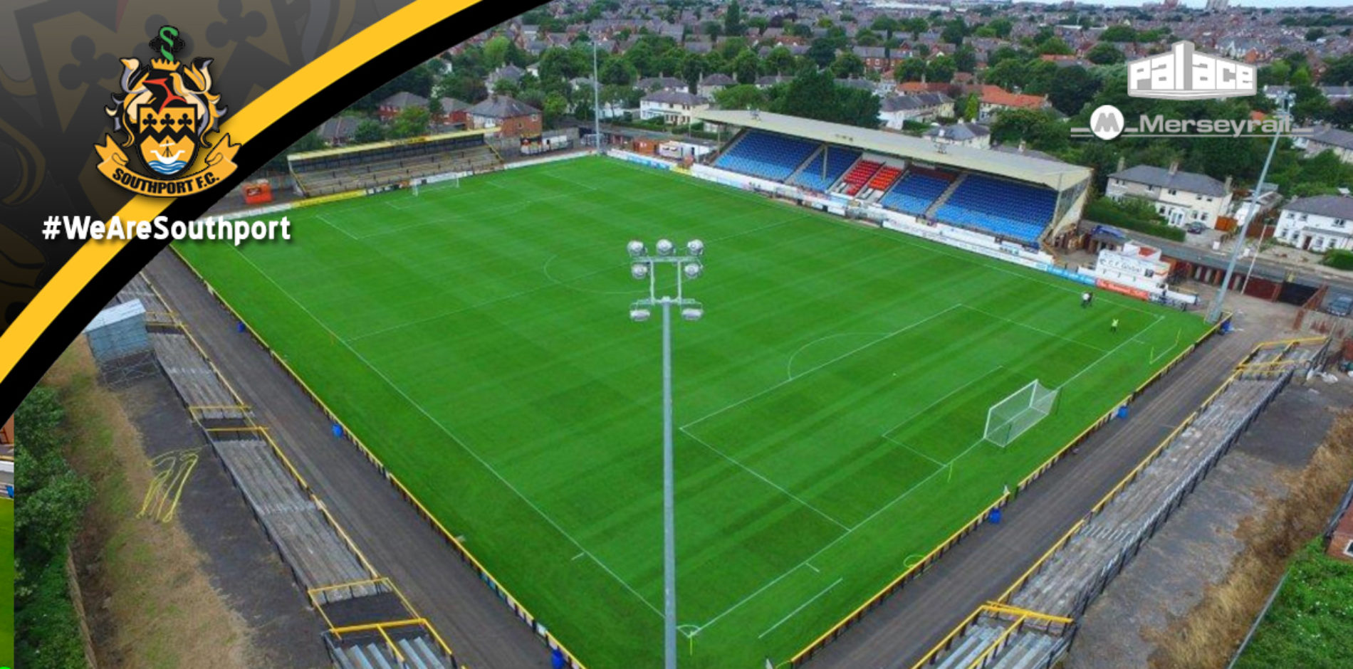 VIDEO | Second Visit For ViewedFromAbove Filming Merseyrail Community Stadium Drone Footage