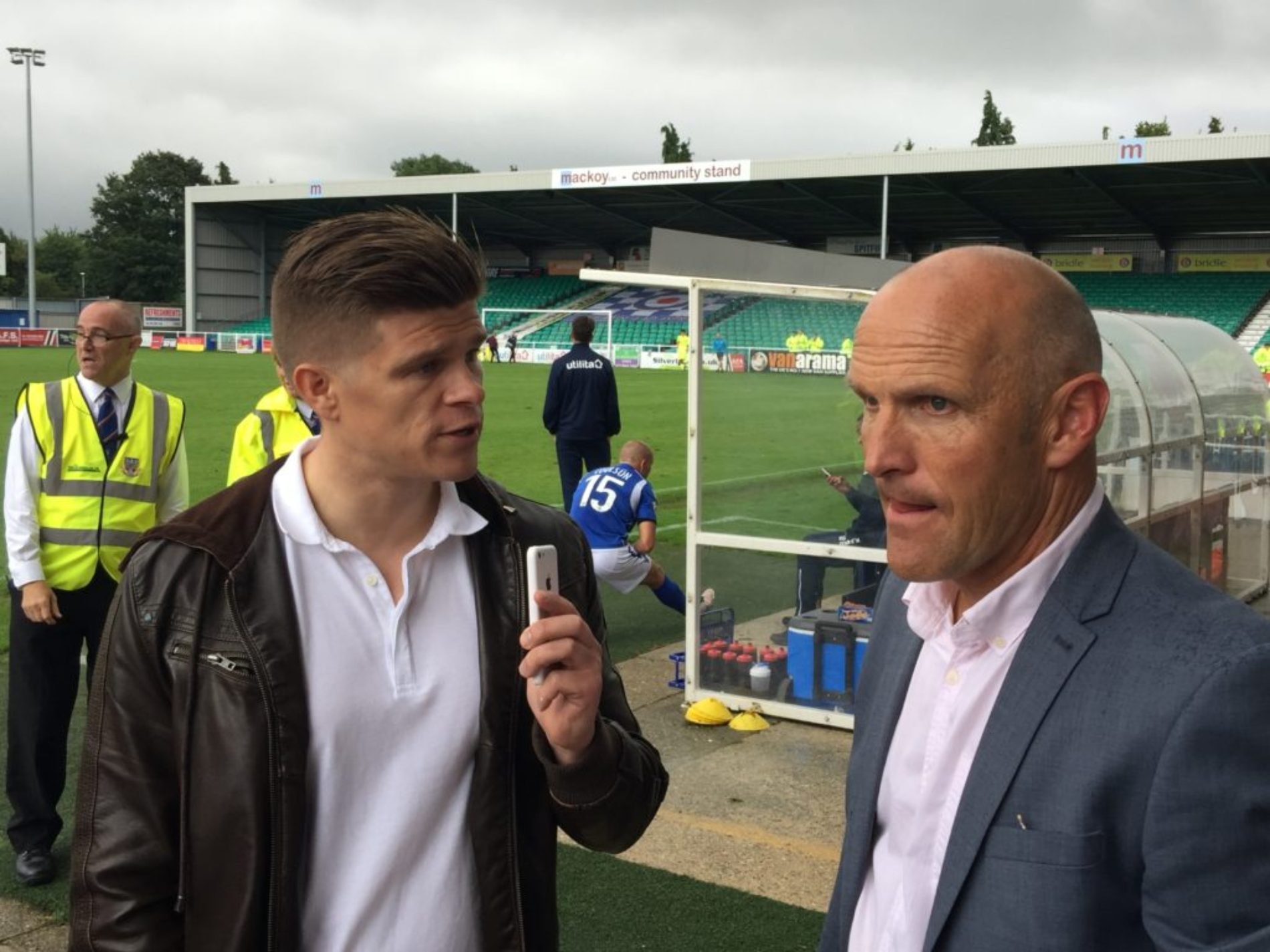 AUDIO | Steve Burr After Eastleigh Draw