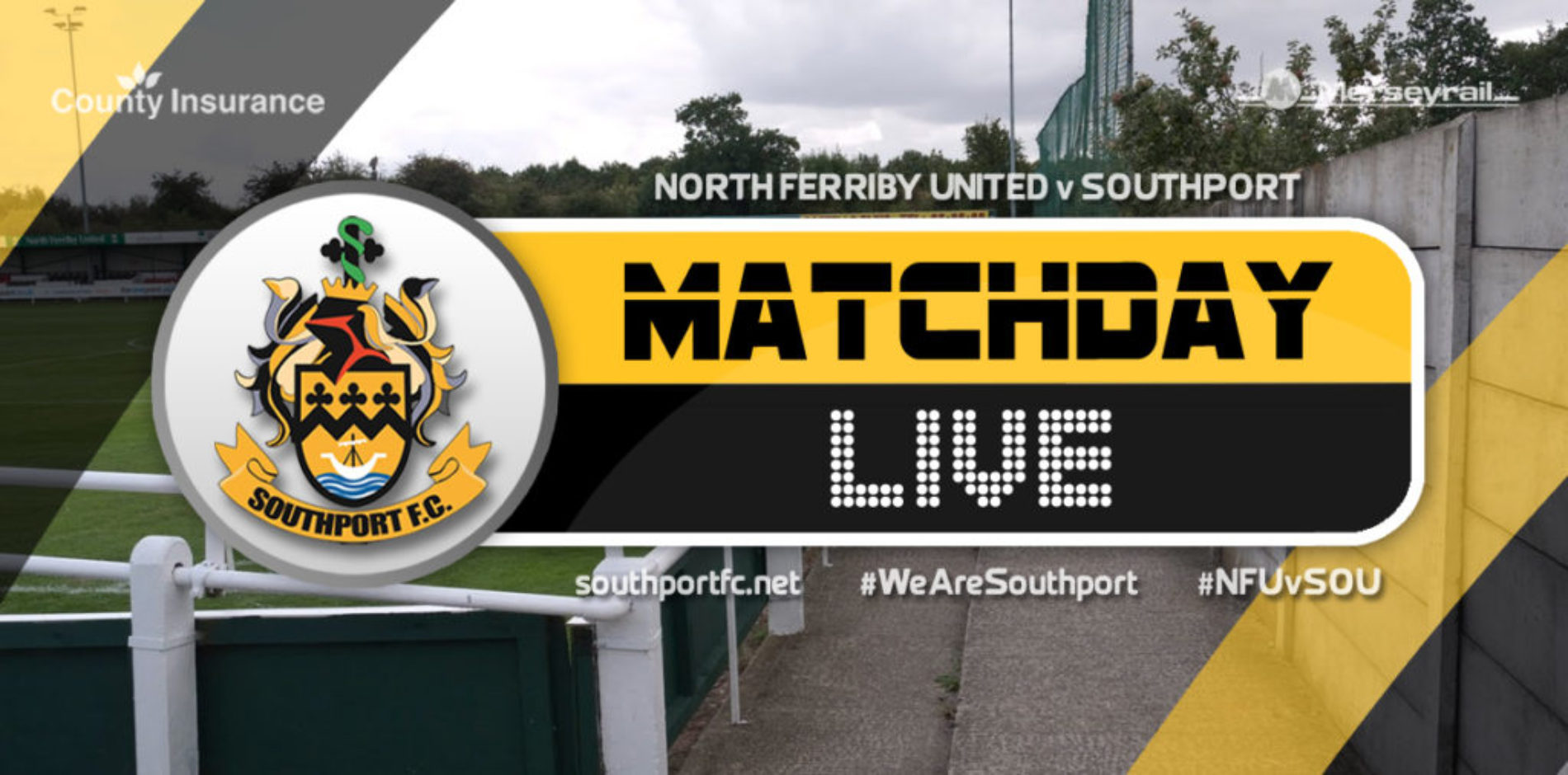 MATCHDAY LIVE   North Ferriby United 0 – 1 Southport
