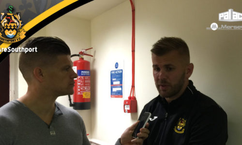 AUDIO | Post Match Interview With Andy Bishop