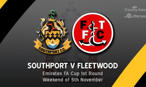 Southport host Fleetwood Town in Emirates FA Cup First Round