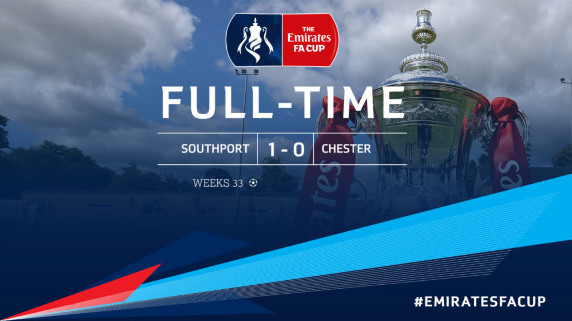MATCH REPORT | Southport 1 – 0 Chester – FA Cup