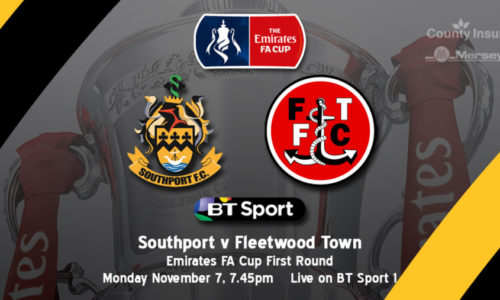 FA CUP | Southport V Fleetwood To Be Broadcast Live On BT Sport