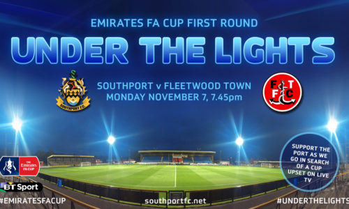 EMIRATES FA CUP | Support The Port Next Monday Night