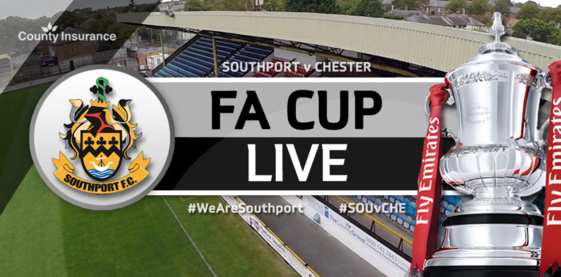 MATCHDAY LIVE | Southport 1 – 0 Chester – FA Cup