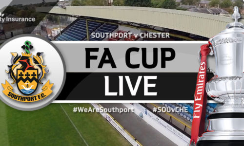 MATCHDAY LIVE   Southport 1 – 0 Chester – FA Cup