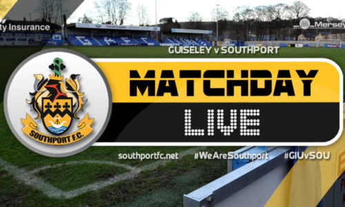 MATCHDAY LIVE | Guiseley V Southport