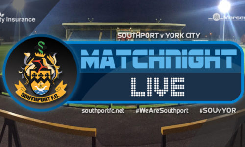 MATCHDAY LIVE | Southport V York City
