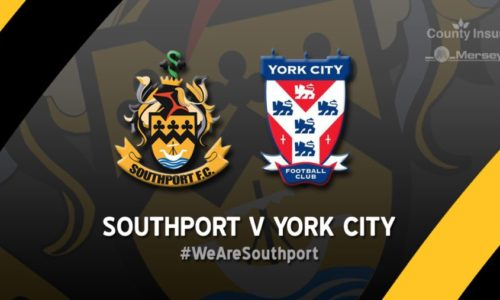 PREVIEW | Southport V York City – Tuesday 7.45pm – Merseyrail Community Stadium
