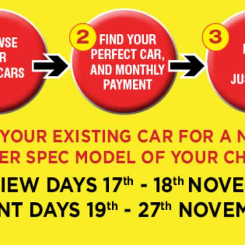 Chapelhouse Car Swap Starts 19th November