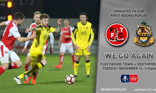 EMIRATES FA CUP | Fleetwood Replay Admission Details