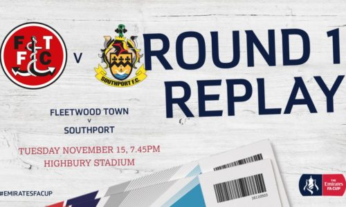 EMIRATES FA CUP | Admission And Travel For Fleetwood Replay