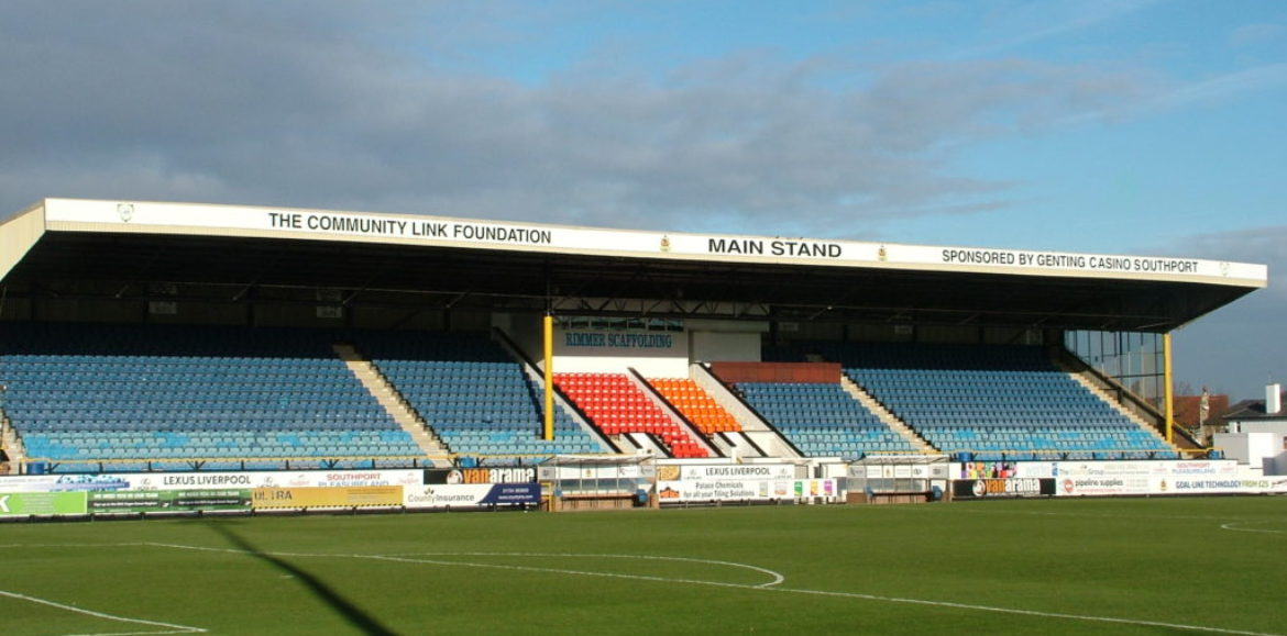 Genting Casino Southport Unveil Community Link Foundation Main Stand