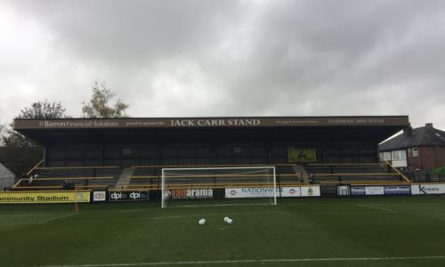 Barron Financial Solutions Proudly Sponsor The Jack Carr Stand