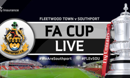 MATCHDAY LIVE | Southport V Fleetwood Town