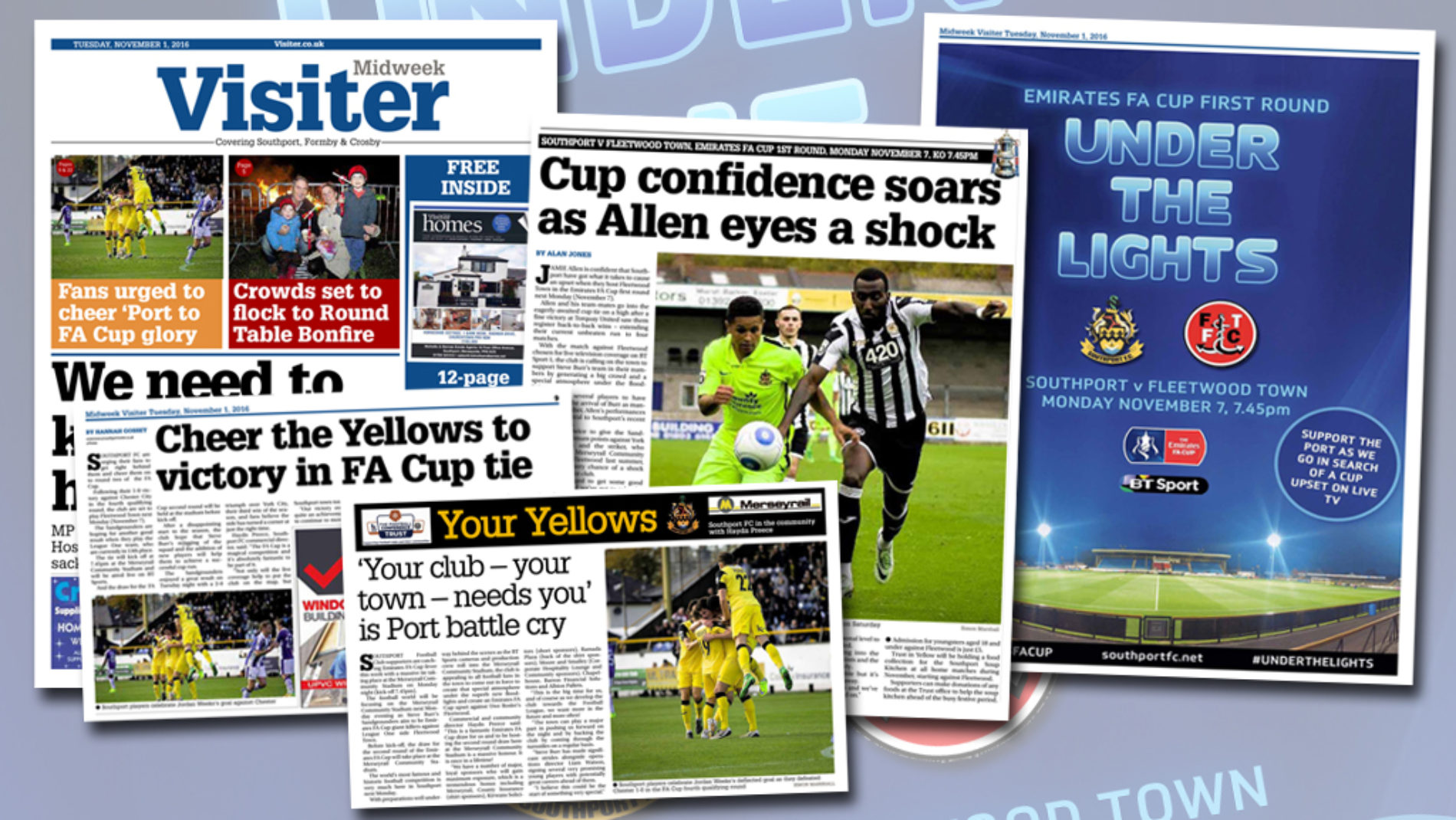 EMIRATES FA CUP | Midweek Visiter Coverage
