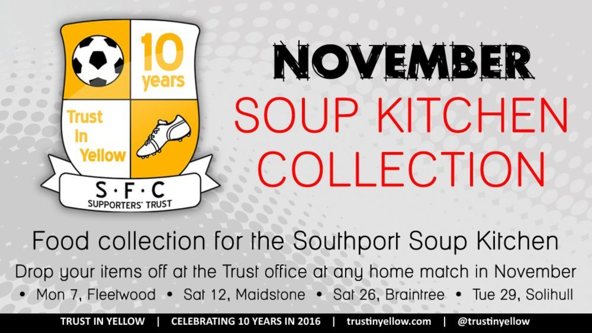 Food Collection Continues On Saturday