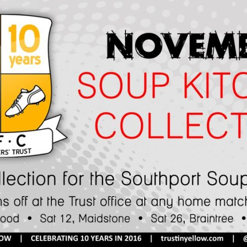 Fans Asked To Donate To Food Collection This Saturday