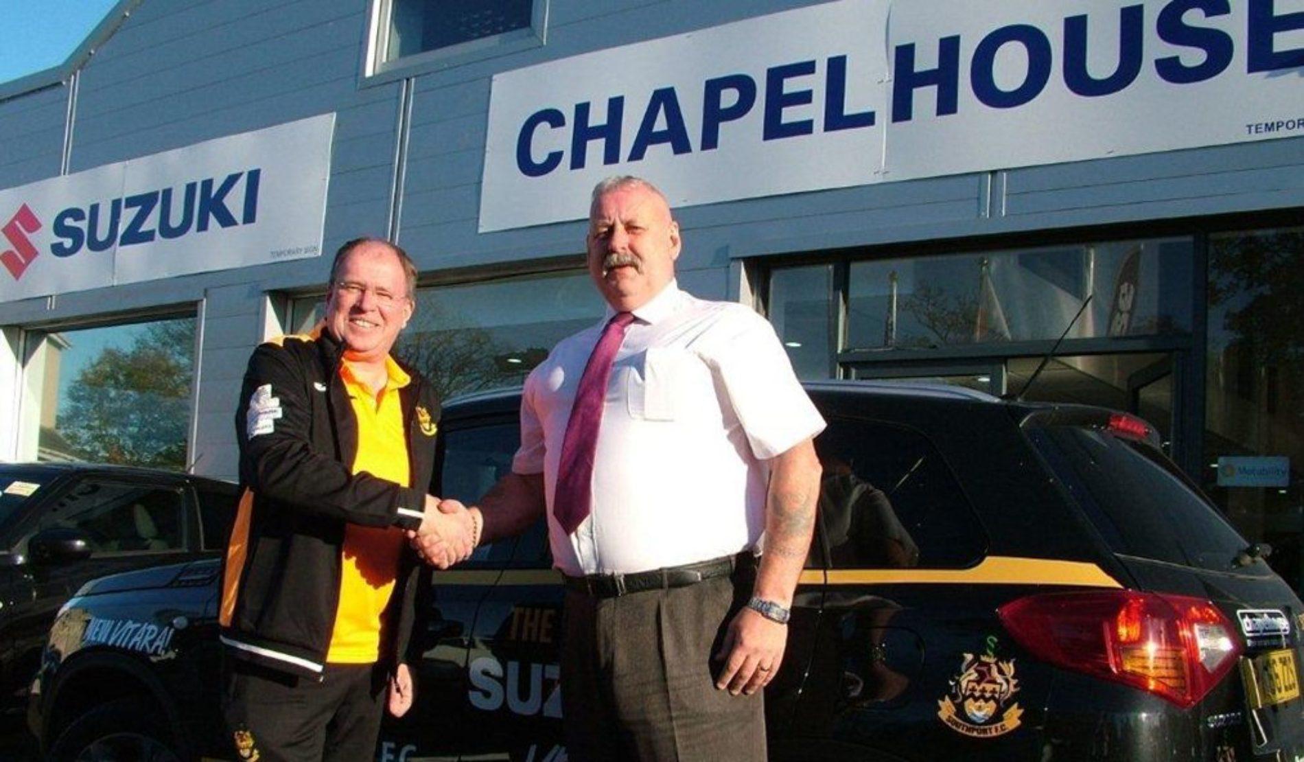 Chapelhouse Extend Southport FC Sponsorship