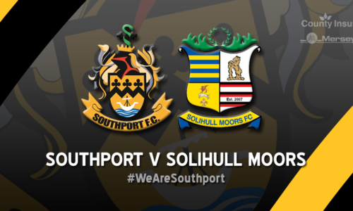 Southport V Solihull Moors – GAME ON