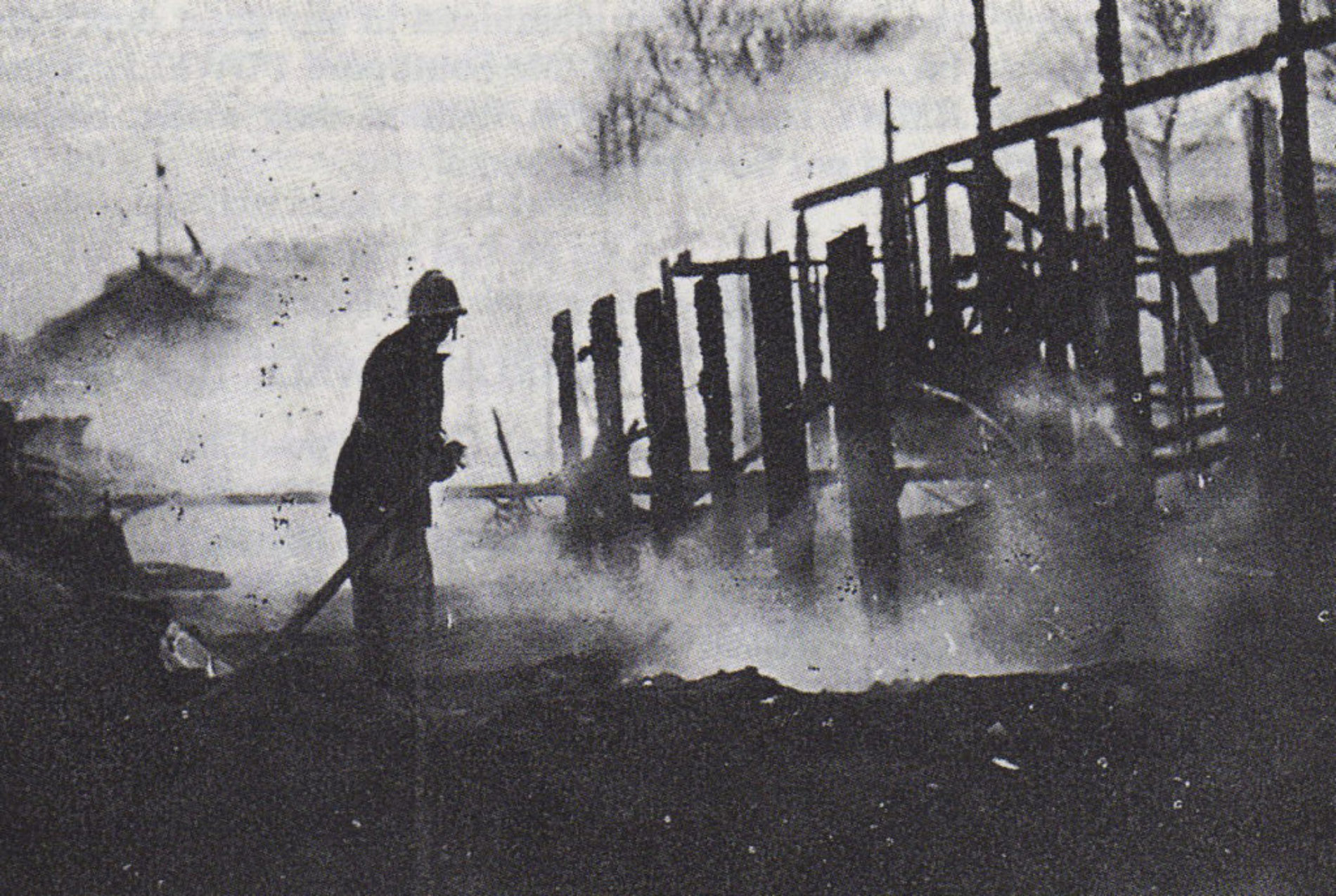 50 Years   The Main Stand Fire of 1966