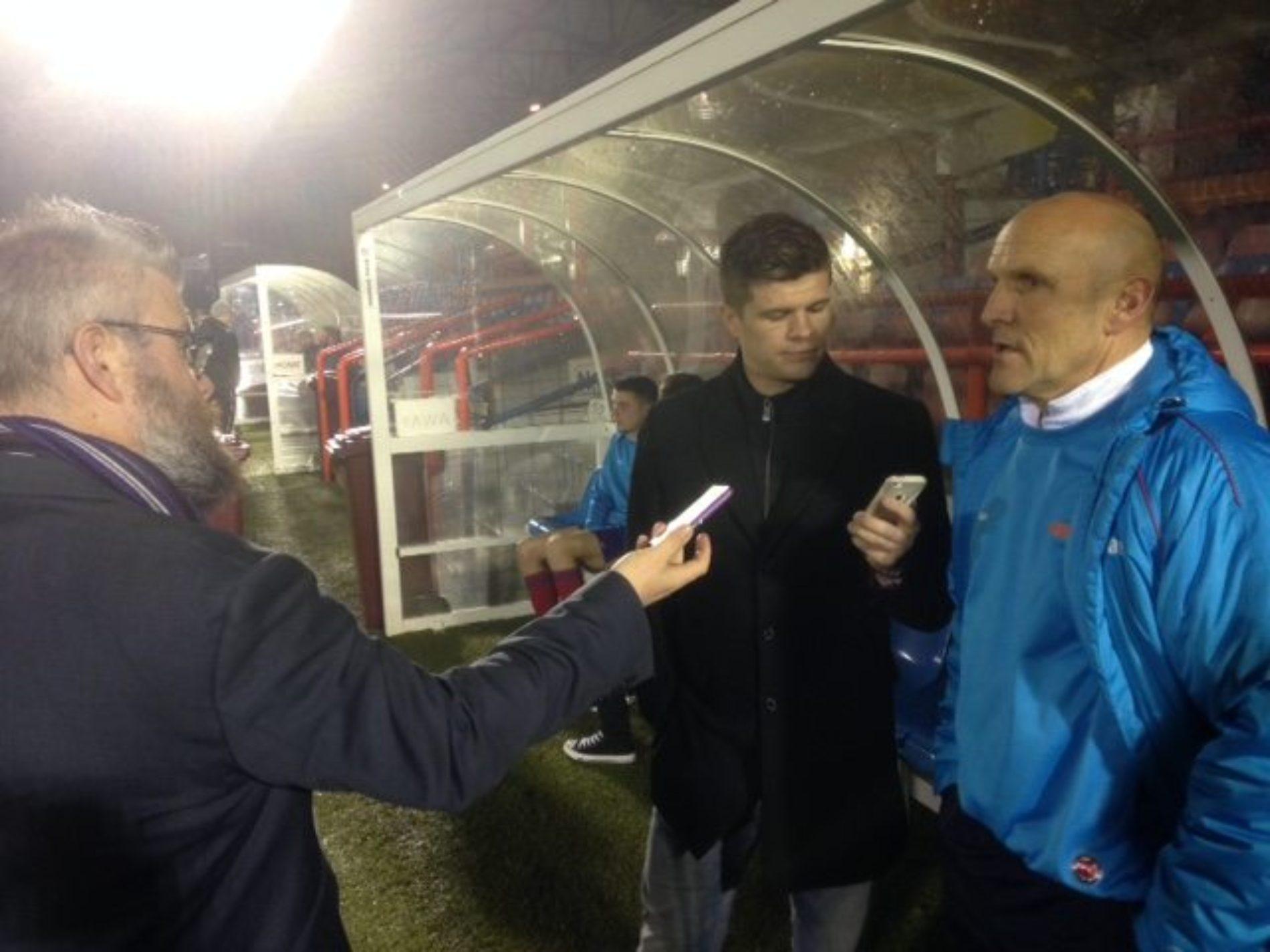 AUDIO | Steve Burr After Aldershot Defeat