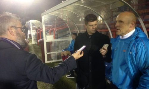 AUDIO | Steve Burr After Aldershot Defeat