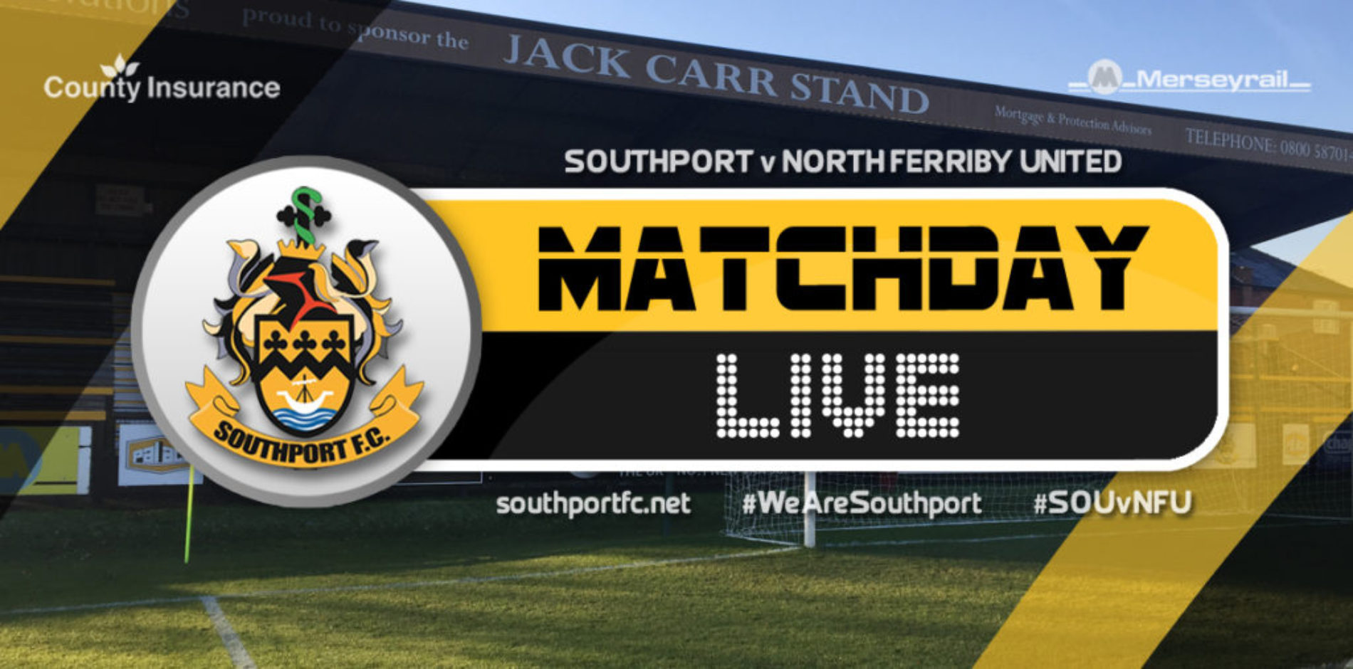 MATCHDAY LIVE | Southport V North Ferriby United