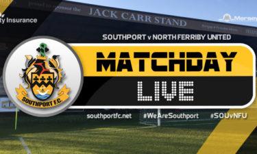 MATCHDAY LIVE | Southport V North Ferriby United