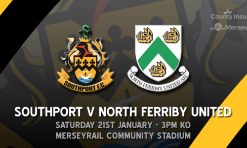 HIGHLIGHTS | Southport V North Ferriby United