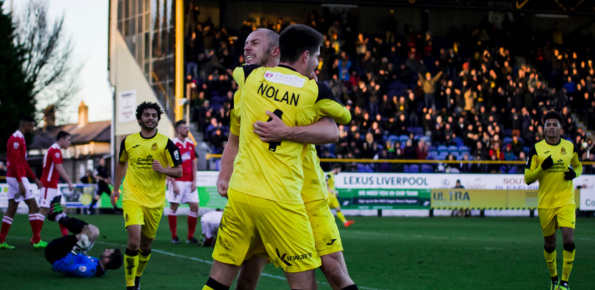 GOAL | Liam Nolan V Wrexham – New Year's Day