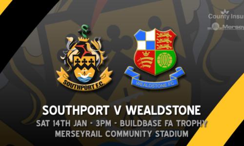 HIGHLIGHTS | Southport V Wealdstone | Buildbase FA Trophy