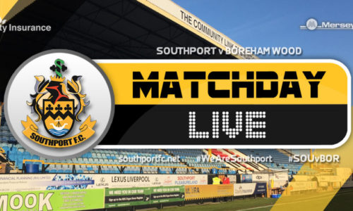 MATCHDAY LIVE | Southport V Boreham Wood