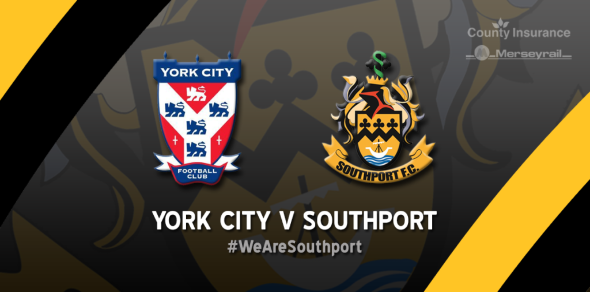 MATCHDAY LIVE | York City V Southport